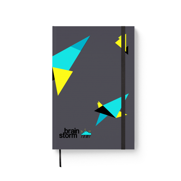 brainstorm journal notebook | ռեզինով նոթատետր ''brainstorm''