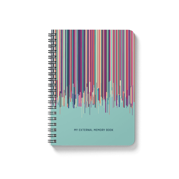colourful memory notebook | սպիռալով նոթատետր ''memory book''