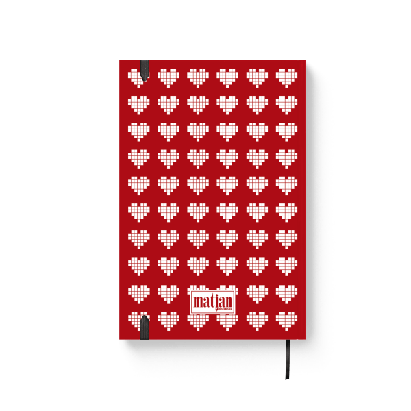 lovebook journal notebook back