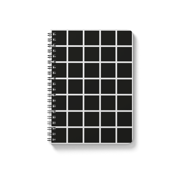 square pattern spiral notebook | սպիռալով նոթատետր ''square''