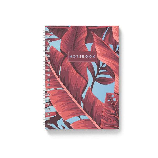 tropical banana spiral notebook | սպիռալով նոթատետր ''tropical banana''