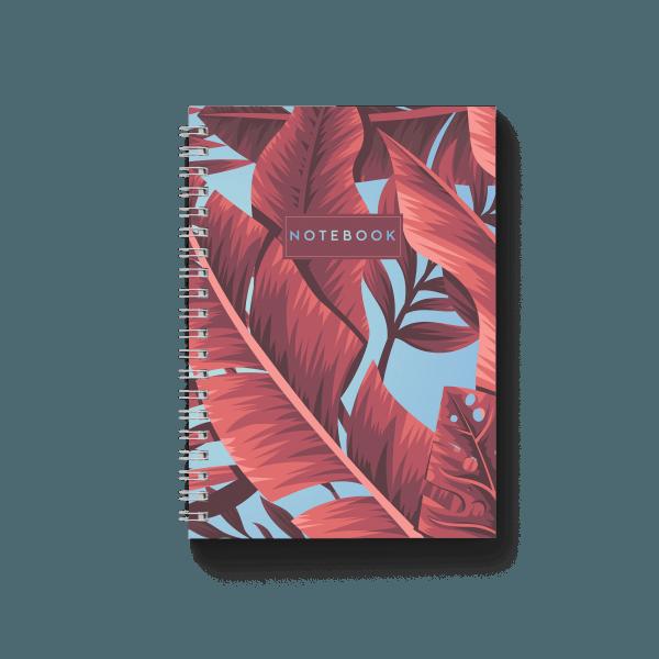 tropical banana spiral notebook | սպիռալով նոթատետր ''tropical banana''