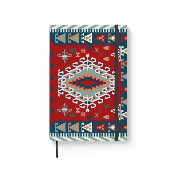armenian carpet journal notebook | ռեզինով նոթատետր ''armenian carpet''