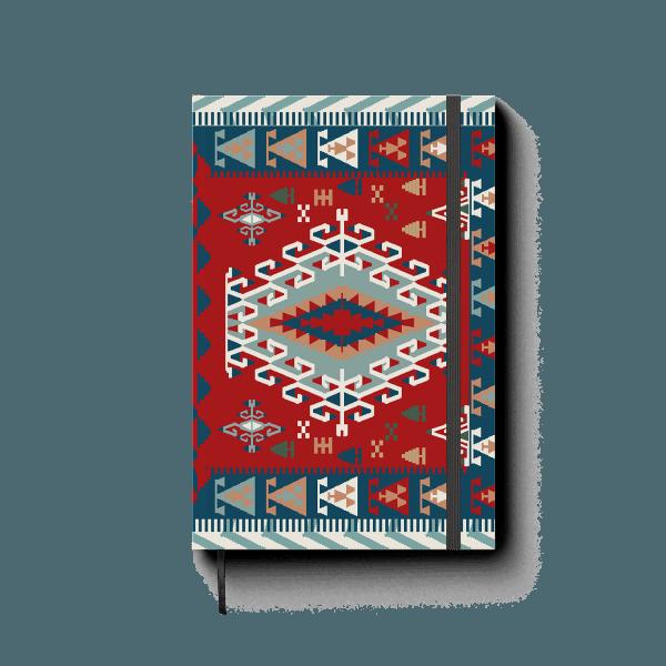 armenian carpet journal notebook | ռեզինով նոթատետր ''armenian carpet''