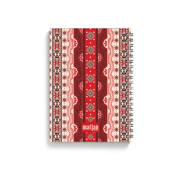 armenian ornaments spiral notebook | սպիռալով նոթատետր ''armenian ornaments''
