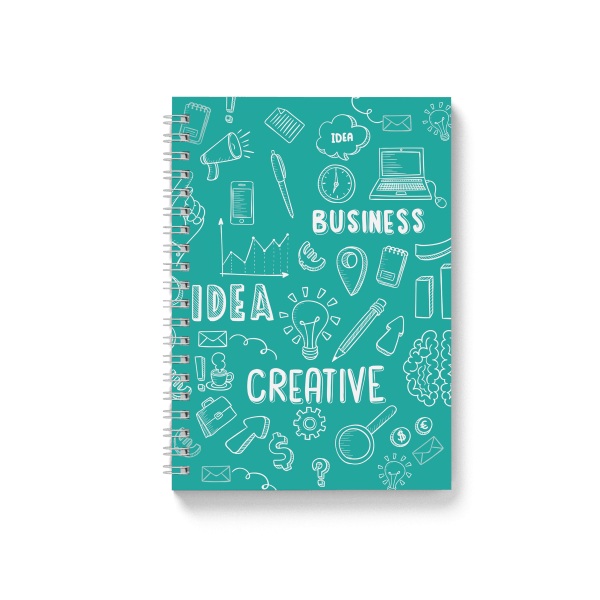 business pattern spiral notebook | սպիռալով նոթատետր ''cactus''