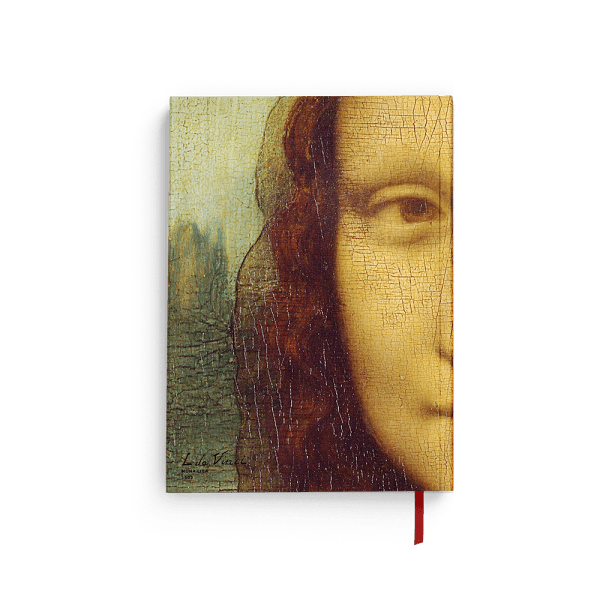 """Mona Lisa"" journal notebook back"