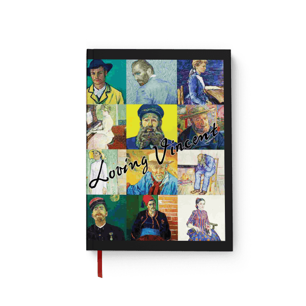 vincent art journal notebook | արտ նոթատետր ''loving vincent''