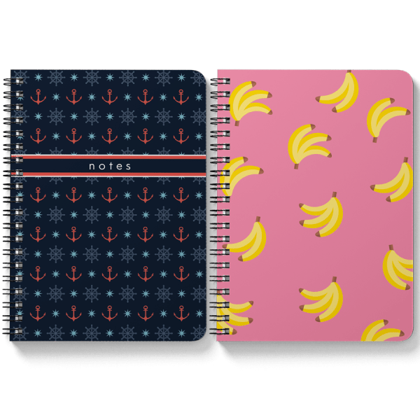 Anchor + Banana Notebooks