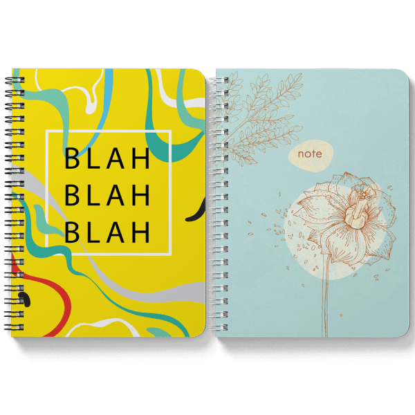 Blah Blah + Dandelion Notebooks