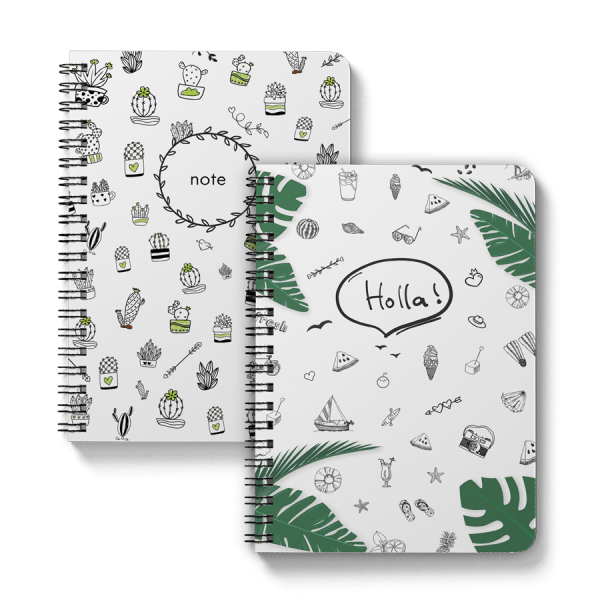 Cactus + Palm Notebooks