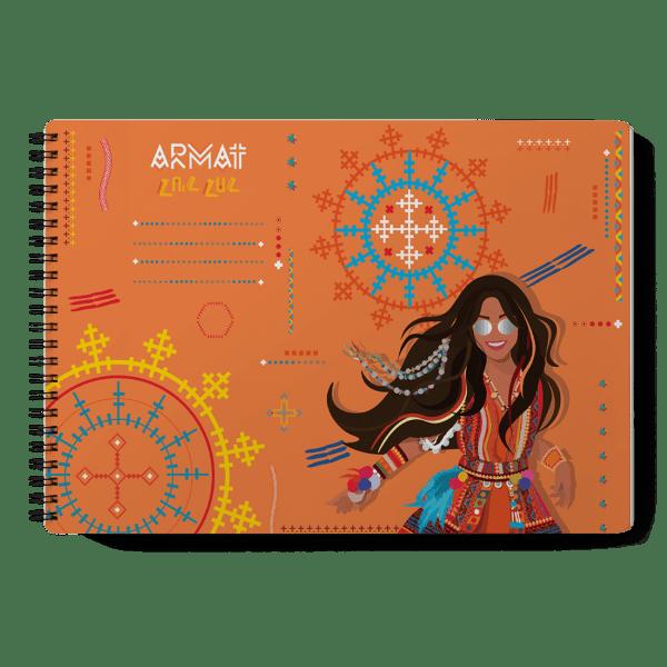 """ARMAT """"HUH HAH"""" Sketchbook"""